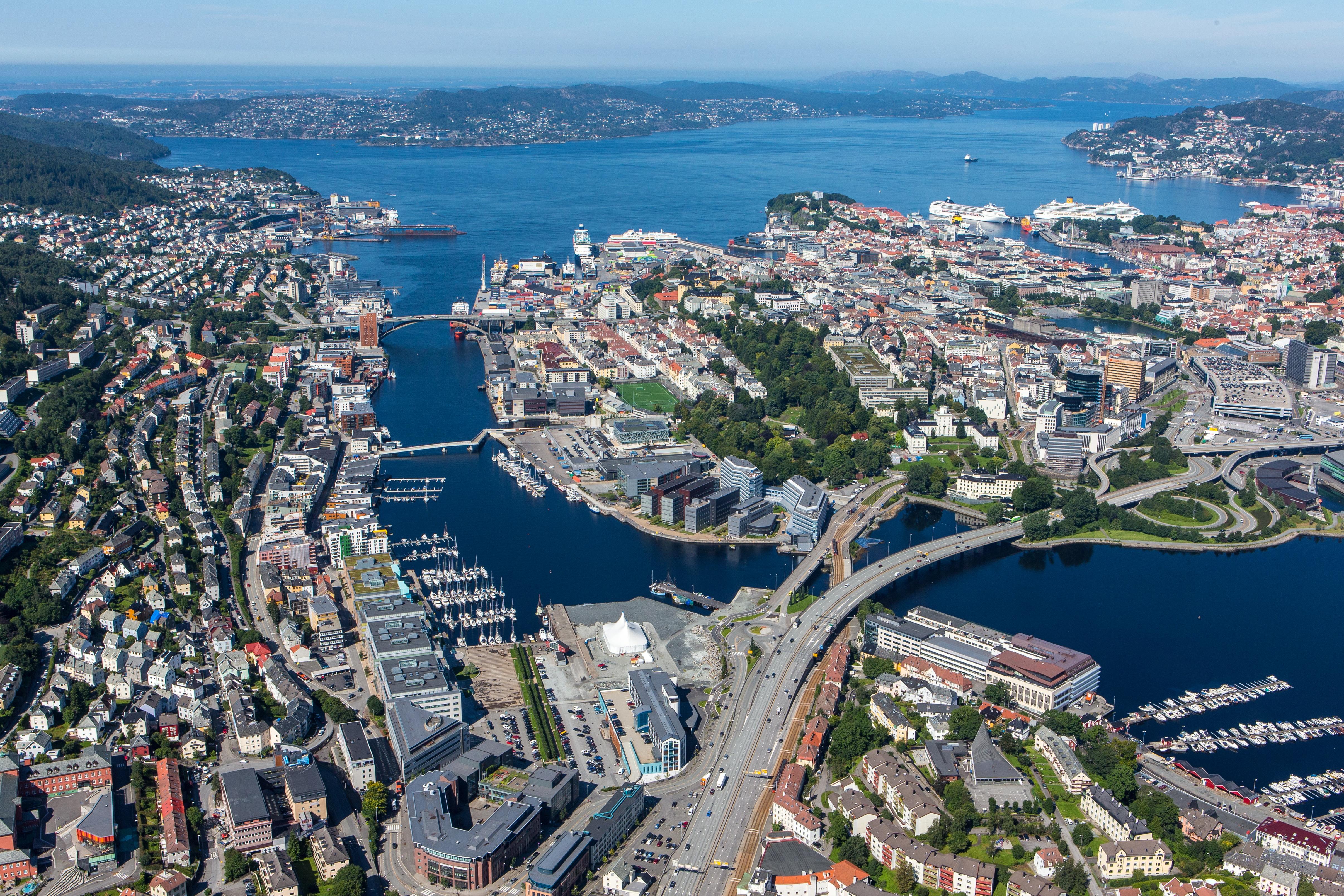 Marineholmen samler allerede mange marine aktører på sentrumssiden av Damsgårdssundet.